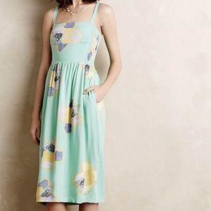 Corey Lynn calter midi dress floral mint green
